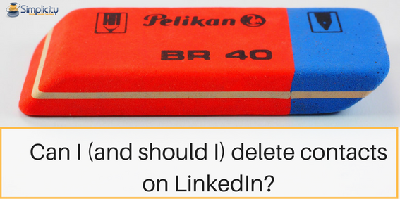 Delete contacts on LinkedIn (1)