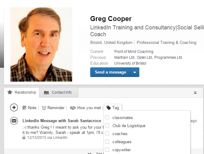 how to get out of linkedin